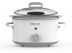 Crock-Pot® 4.5L Hinged lid DuraCeramic Slow Cooker