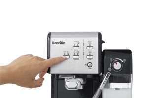 BREVILLE Prima Latte II coffee machine - VCF108X