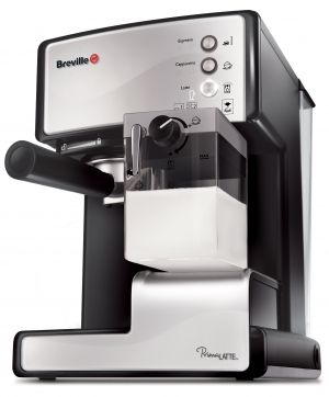 BREVILLE Prima Latte coffee machine - VCF045x (Silver)