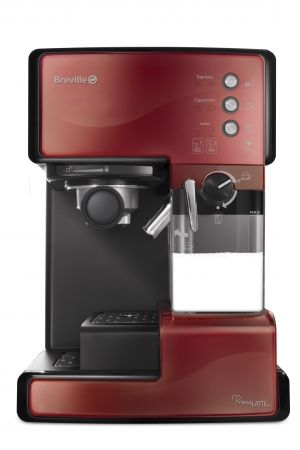 BREVILLE Prima Latte coffee machine - VCF046x (Red)
