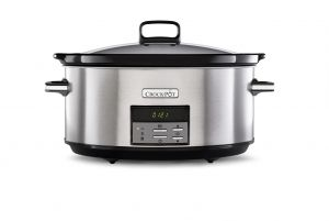 "Oval Crock-Pot® 7.5L ""Slim"" Digital Slowcooker (CSC063X)"